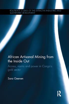 Geenen   African Artisanal Mining from the Inside Out   Buch   sack.de
