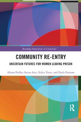 Pedlar / Arai / Yuen   Community Re-Entry   Buch   sack.de