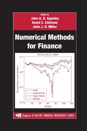 Miller / Edelman / Appleby | Numerical Methods for Finance | Buch | sack.de