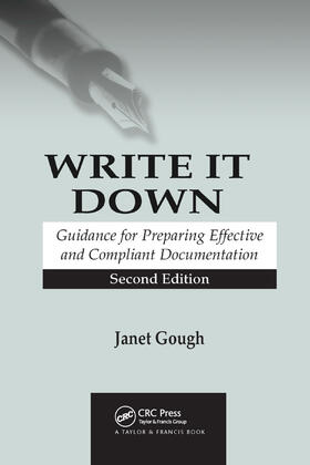 Gough   Write It Down   Buch   sack.de