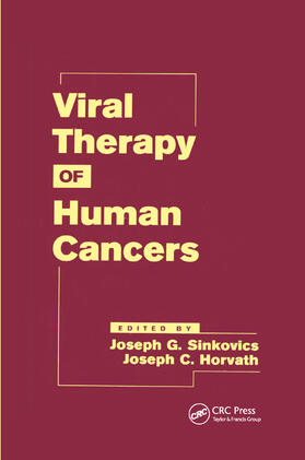 Sinkovics / Horvath | Viral Therapy of Human Cancers | Buch | sack.de