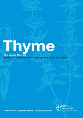 Stahl-Biskup / Saez | Thyme | Buch | sack.de