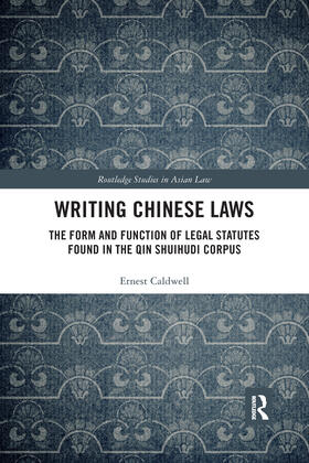 Caldwell | Writing Chinese Laws | Buch | sack.de