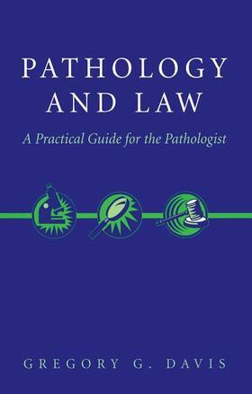 Davis | Pathology and Law | Buch | sack.de