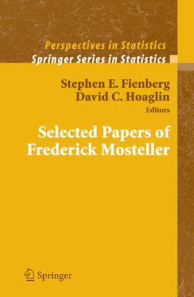 Fienberg / Hoaglin   Selected Papers of Frederick Mosteller   Buch   sack.de