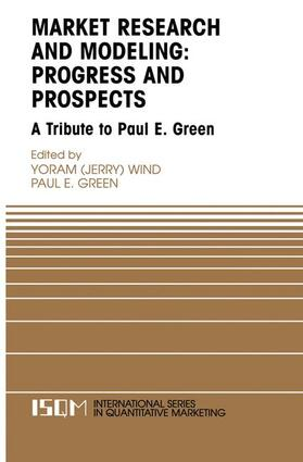 Wind / Green | Marketing Research and Modeling: Progress and Prospects | Buch | sack.de