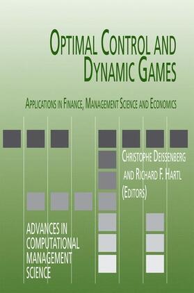 Deissenberg / Hartl   Optimal Control and Dynamic Games   Buch   sack.de