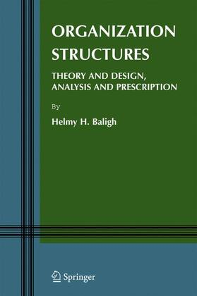Baligh | Organization Structures | Buch | sack.de