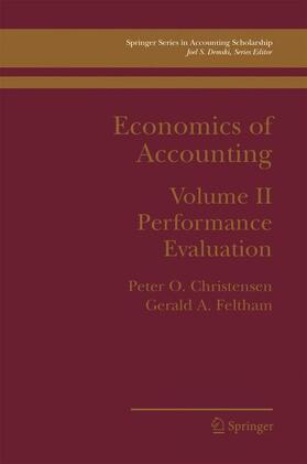 Christensen / Feltham | Economics of Accounting | Buch | sack.de
