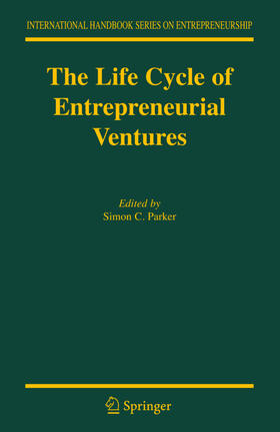 Parker | The Life Cycle of Entrepreneurial Ventures | Buch | sack.de