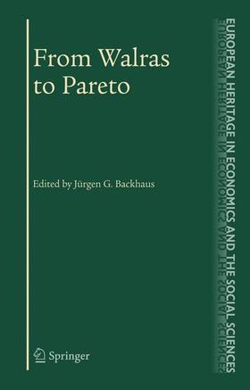 Maks / Backhaus | From Walras to Pareto | Buch | sack.de