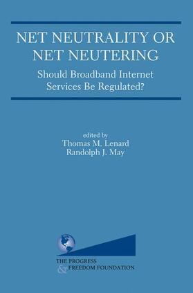Lenard / May | Net Neutrality or Net Neutering | Buch | sack.de