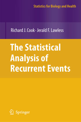 Cook / Lawless | The Statistical Analysis of Recurrent Events | Buch | sack.de
