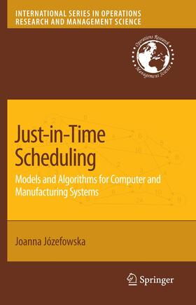 Jozefowska | Just-in-Time Scheduling | Buch | sack.de