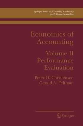 Christensen / Feltham   Economics of Accounting   Buch   sack.de
