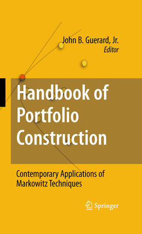 Guerard, Jr. | Handbook of Portfolio Construction | Buch | sack.de