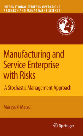 Matsui | Manufacturing and Service Enterprise with Risks | Buch | sack.de
