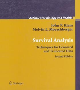 Moeschberger / Klein   Survival Analysis   Buch   sack.de