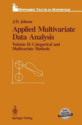Jobson | Applied Multivariate Data Analysis: Volume II: Categorical and Multivariate Methods | Buch | sack.de