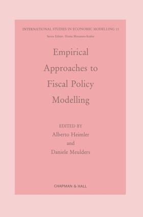 Heimler / Meulders | Empirical Approaches to Fiscal Policy Modelling | Buch | sack.de