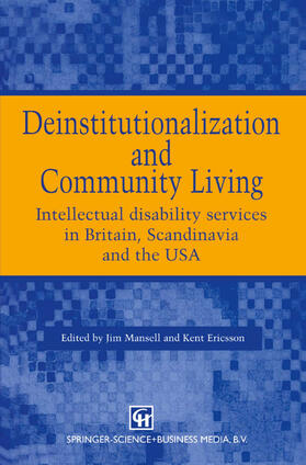 Mansell / Ericsson | Deinstitutionalization and Community Living | Buch | sack.de