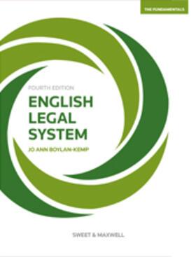 Boylan-Kemp | English Legal System | Buch | sack.de