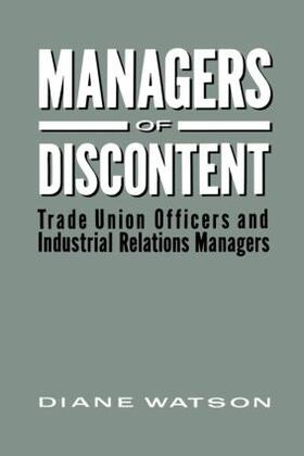 Watson   Managers of Discontent   Buch   sack.de