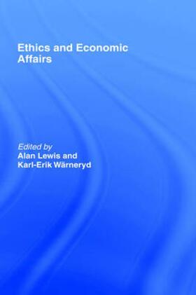 Lewis / Wärneryd   Ethics and Economic Affairs   Buch   sack.de