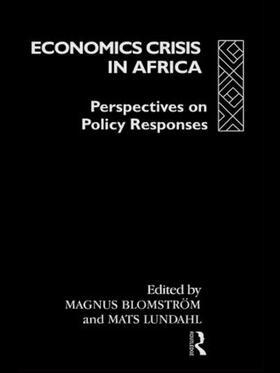 Blomström / Lundahl | Economic Crisis in Africa | Buch | sack.de