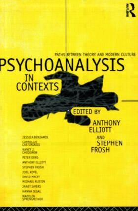 Elliott / Frosh | Psychoanalysis in Context | Buch | sack.de