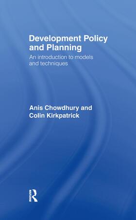 Chowdhury / Kirkpatrick   Development Policy and Planning   Buch   sack.de