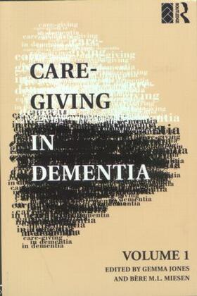 Jones / Miesen | Care-Giving in Dementia | Buch | sack.de