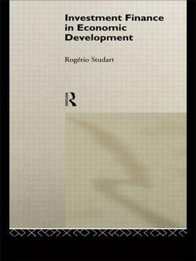Studart | Investment Finance in Economic Development | Buch | sack.de