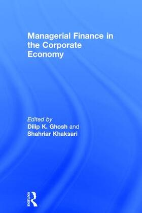 Ghosh / Khaksari | Managerial Finance in the Corporate Economy | Buch | sack.de