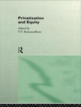 Ramanadham | Privatization and Equity | Buch | sack.de