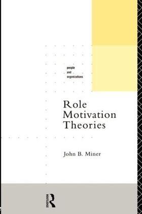 Miner | Role Motivation Theories | Buch | sack.de