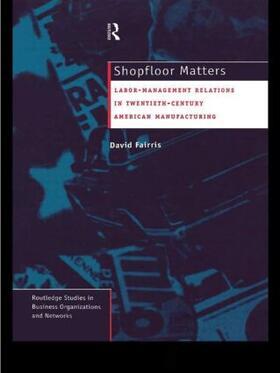 Fairris   Shopfloor Matters   Buch   sack.de