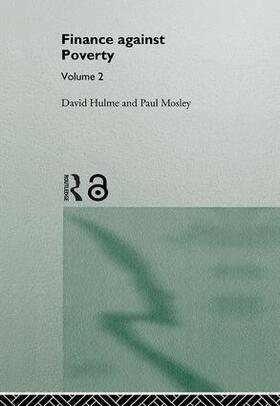 David / Mosley | Finance Against Poverty: Volume 2 | Buch | sack.de