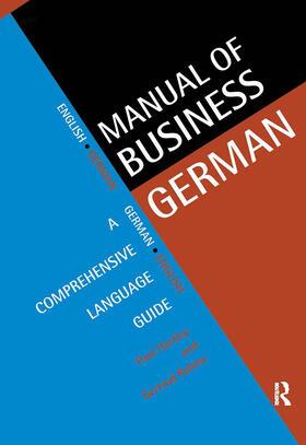 Hartley / Robins | Manual of Business German | Buch | sack.de
