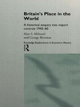 Brennan / Milward   Britain's Place in the World   Buch   sack.de