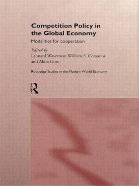 Comanor / Goto / Waverman   Competition Policy in the Global Economy   Buch   sack.de