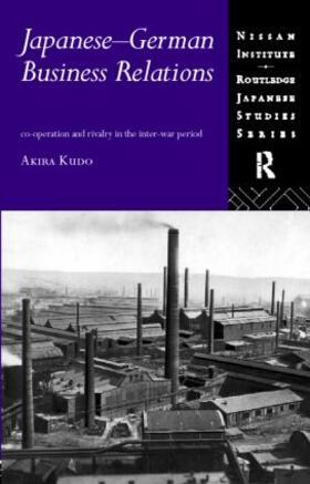 Kudo   Japanese-German Business Relations   Buch   sack.de