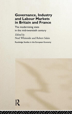 Salais / Whiteside | Governance, Industry and Labour Markets in Britain and France | Buch | sack.de