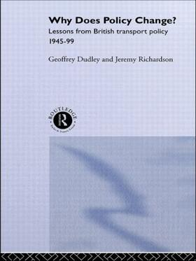 Dudley / Richardson / Dudley | Why Does Policy Change? | Buch | sack.de