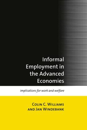 Williams / Windebank | Informal Employment in Advanced Economies | Buch | sack.de