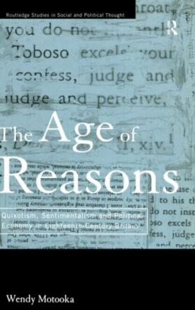Motooka   The Age of Reasons   Buch   sack.de