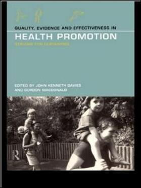 Davies / MacDonald | Quality, Evidence and Effectiveness in Health Promotion | Buch | sack.de