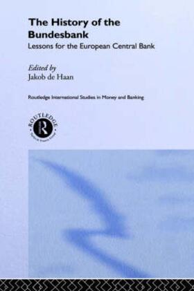 De Haan | The History of the Bundesbank | Buch | sack.de