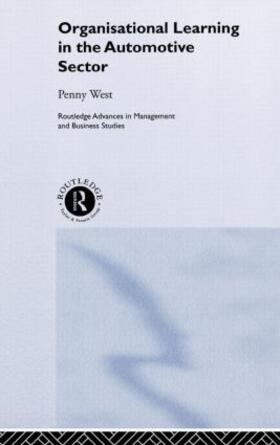 West / West | Organisational Learning in the Automotive Sector | Buch | sack.de