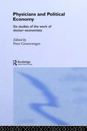 Groenewegen | Physicians and Political Economy | Buch | sack.de